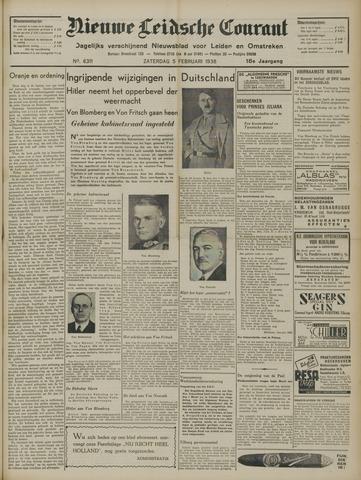 Nieuwe Leidsche Courant 1938-02-05