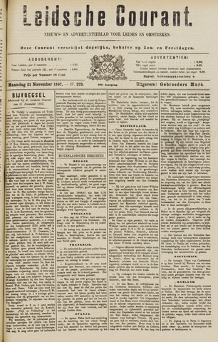 Leydse Courant 1887-11-21