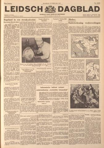 Leidsch Dagblad 1947-02-10