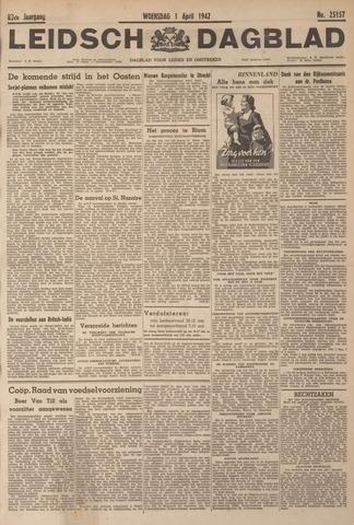 Leidsch Dagblad 1942-04-01