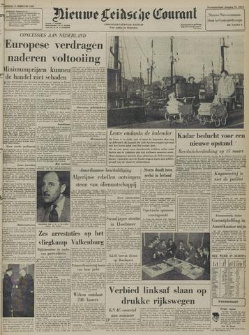 Nieuwe Leidsche Courant 1957-02-05
