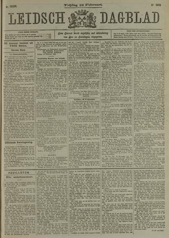 Leidsch Dagblad 1909-02-12