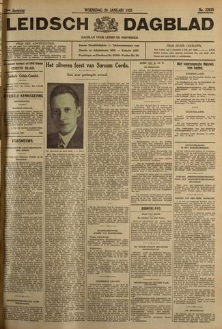 Leidsch Dagblad 1932-01-20