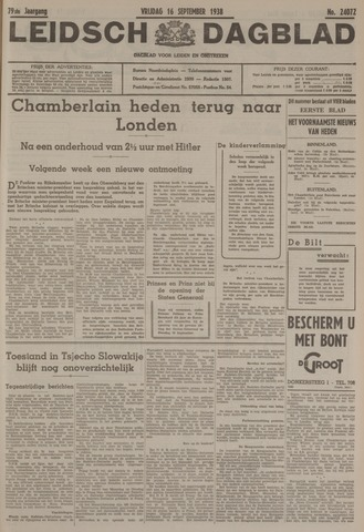 Leidsch Dagblad 1938-09-16