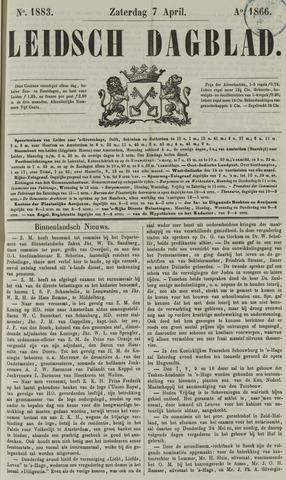 Leidsch Dagblad 1866-04-07