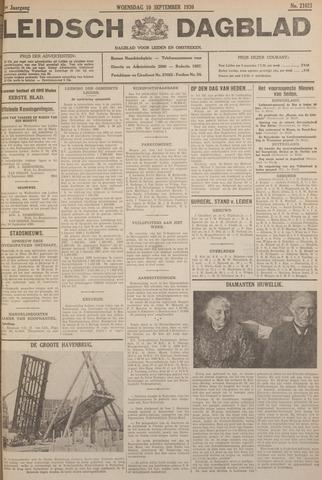 Leidsch Dagblad 1930-09-10