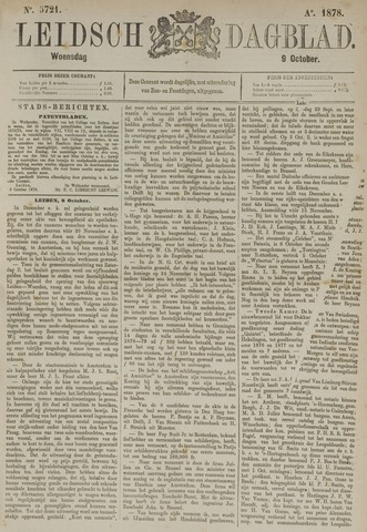 Leidsch Dagblad 1878-10-09