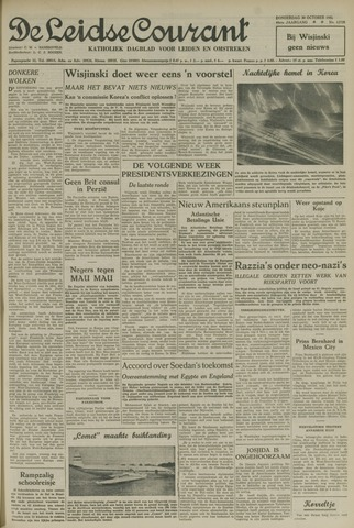 Leidse Courant 1952-10-30