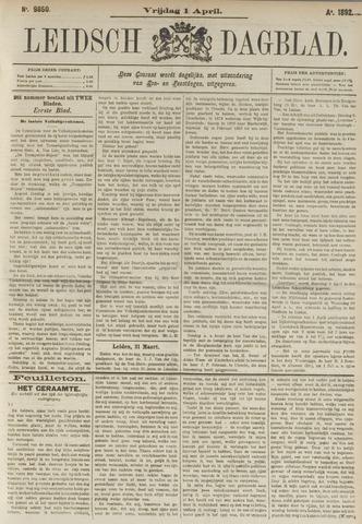 Leidsch Dagblad 1892-04-01