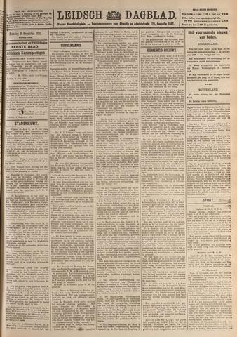 Leidsch Dagblad 1921-08-09