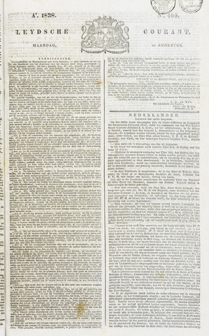 Leydse Courant 1838-08-20