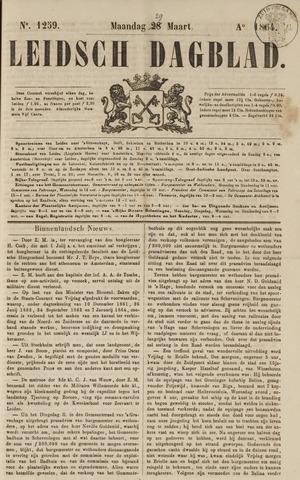 Leidsch Dagblad 1864-03-29