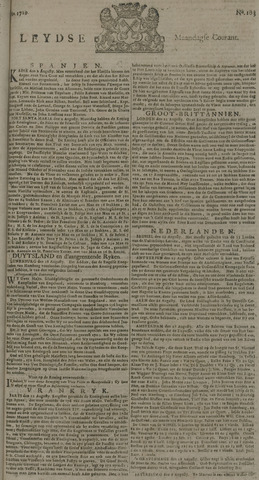 Leydse Courant 1729-08-29