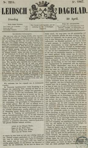 Leidsch Dagblad 1867-04-30