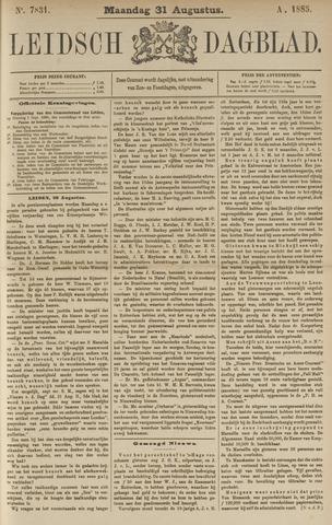 Leidsch Dagblad 1885-08-31