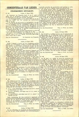 Handelingen van de Raad 1913-03-11