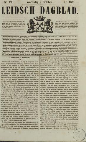 Leidsch Dagblad 1861-10-09
