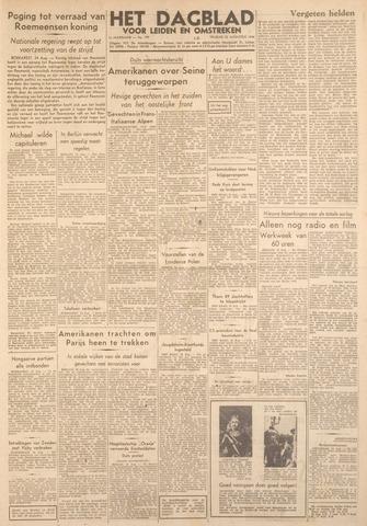 Dagblad voor Leiden en Omstreken 1944-08-25