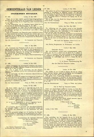 Handelingen van de Raad 1909-05-11