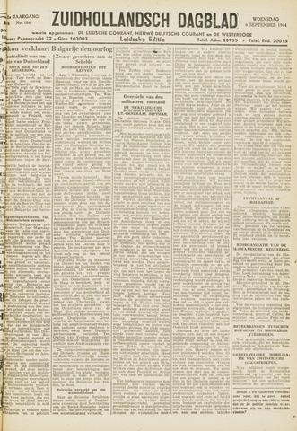Zuidhollandsch Dagblad 1944-09-06