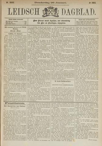 Leidsch Dagblad 1893-01-26