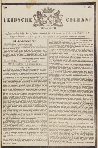 Leydse Courant 1884-07-11