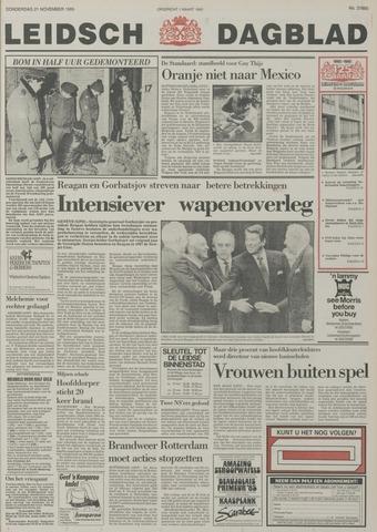 Leidsch Dagblad 1985-11-21