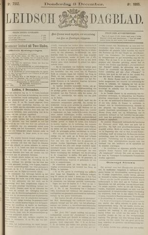 Leidsch Dagblad 1885-12-03