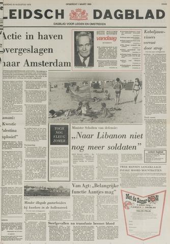 Leidsch Dagblad 1979-08-30