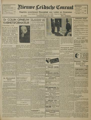 Nieuwe Leidsche Courant 1939-07-13