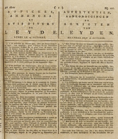 Leydse Courant 1812-10-19
