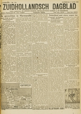 Zuidhollandsch Dagblad 1944-06-17