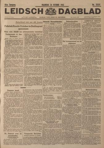 Leidsch Dagblad 1942-10-26