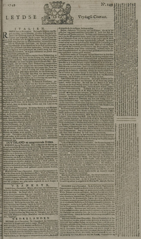 Leydse Courant 1749-12-12