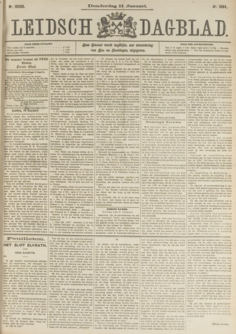 Leidsch Dagblad 1894-01-11