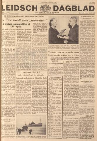 Leidsch Dagblad 1949-03-02