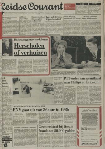 Leidse Courant 1985-01-22
