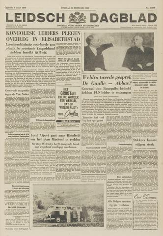 Leidsch Dagblad 1961-02-28