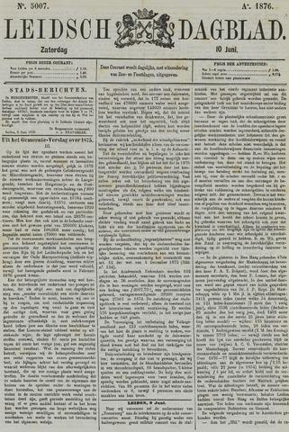 Leidsch Dagblad 1876-06-10