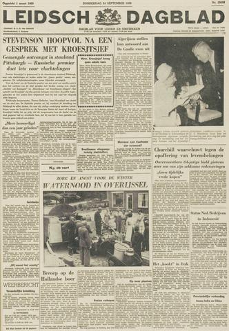 Leidsch Dagblad 1959-09-24