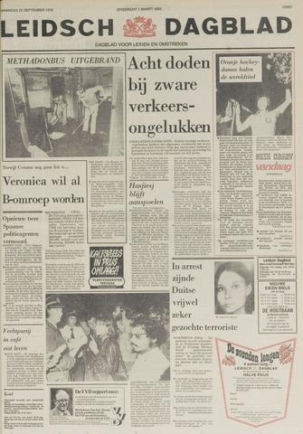Leidsch Dagblad 1978-09-25