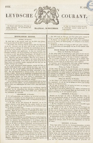 Leydse Courant 1852-12-20