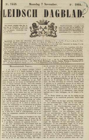 Leidsch Dagblad 1864-11-07