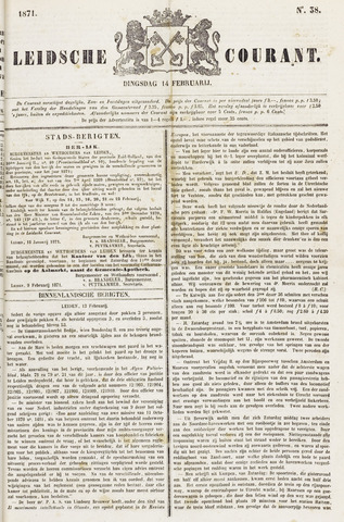 Leydse Courant 1871-02-14