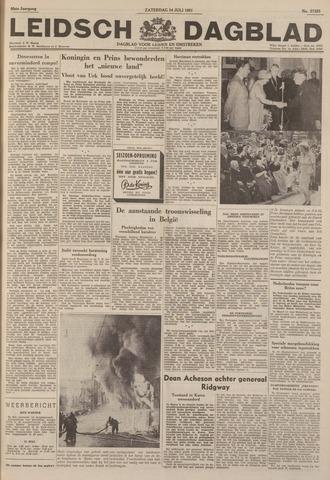 Leidsch Dagblad 1951-07-14