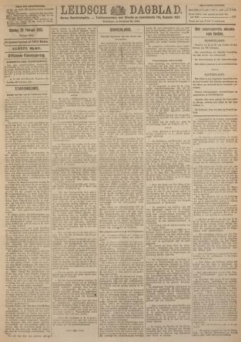 Leidsch Dagblad 1923-02-20