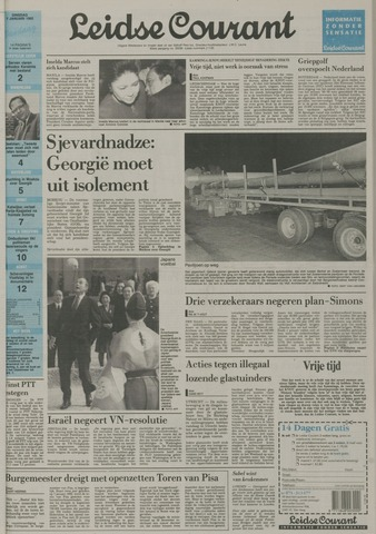Leidse Courant 1992-01-07