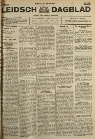 Leidsch Dagblad 1932-01-27