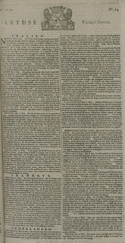 Leydse Courant 1734-05-28