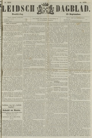 Leidsch Dagblad 1870-09-15